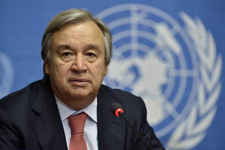 Secretario General de la ONU viajará a Washington