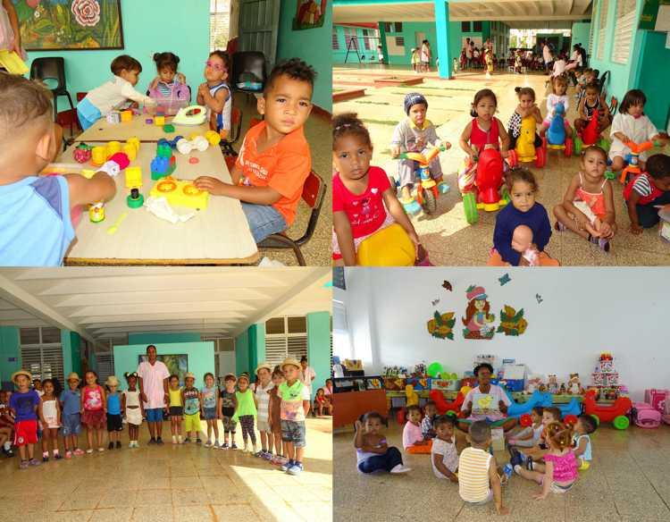 Aumentan capacidades de Círculos Infantiles en Cuba