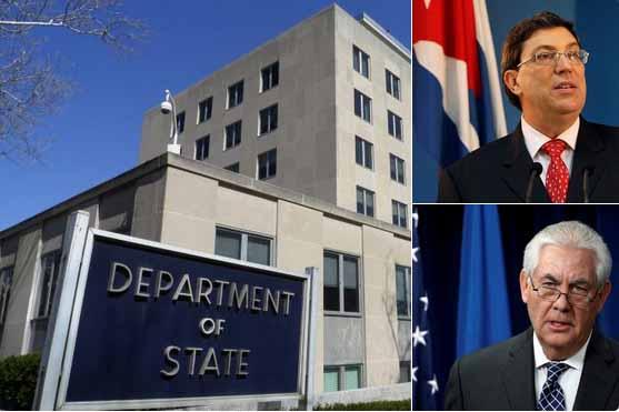 Canciller cubano se reunirá con secretario norteamericano de Estado
