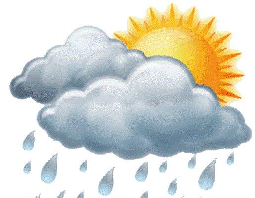Calor en Camagüey, con nublados, aislados chubascos y tormentas eléctricas