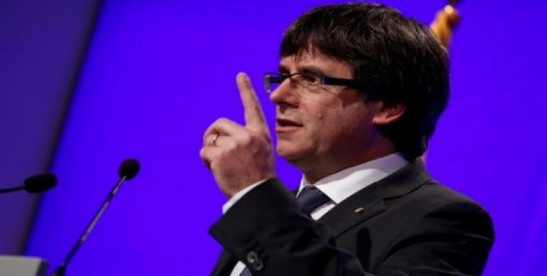 Presidente catalán insiste en declarar mañana la independencia de esa región española