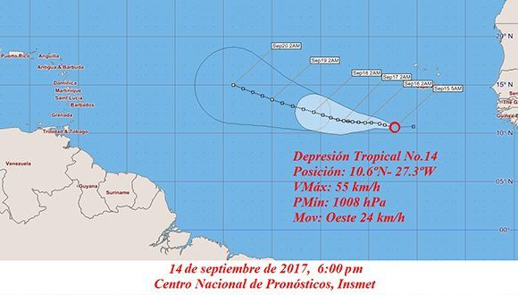 Ramón Velásquez advirtió que tormenta María tendrá efectos indirectos en el país