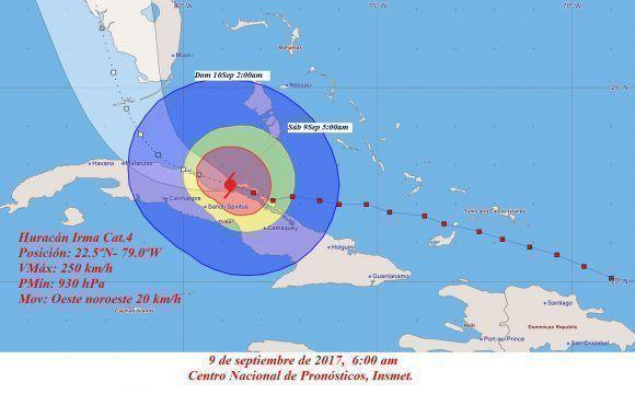Dos días después del huracán, Cuba comunicó que Irma dejó 10 muertos