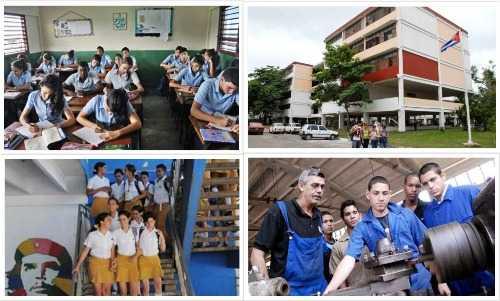Más de dos millones de cubanos en las aulas