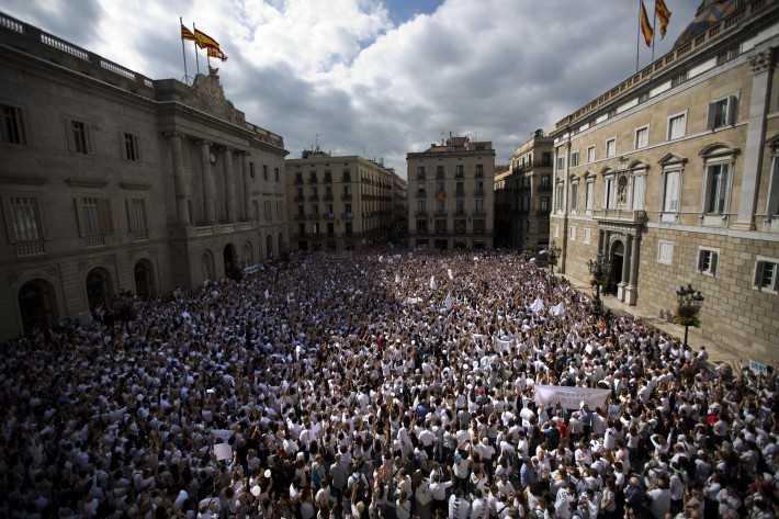 Podría Mariano Rajoy frenar independencia de Cataluña