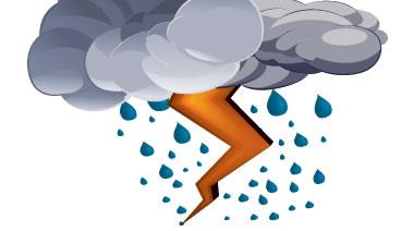 Nublados, algunos chubascos, lluvias y tormentas eléctricas en Camagüey