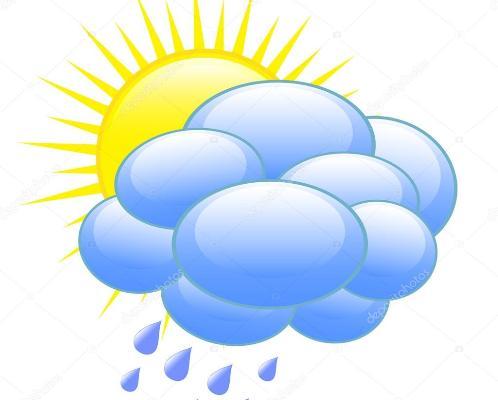 En Camagüey, nublados ocasionales y aislados chubascos